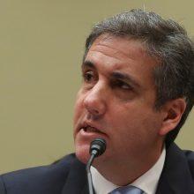 Buvęs D. Trumpo advokatas M. Cohenas:  turiu dar daug papasakoti