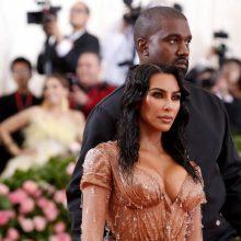 K. Kardashian ir K. Westas susilaukė sūnaus