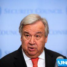 JT vadovas: tarptautinė kova su virusu – per lėta