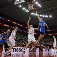 Čekijos krepšininkai pasaulio čempionate įveikė lenkus