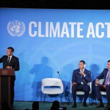 JT: 66 valstybės sieks iki nulio sumažinti grynąjį išmetamų CO2 dujų kiekį