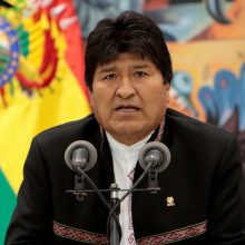 Buvęs Bolivijos prezidentas E. Moralesas užsikrėtė COVID-19
