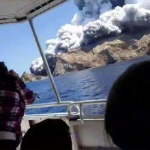 Po ugnikalnio išsiveržimo Naujojoje Zelandijoje – 8 dingę ir 5 žuvę