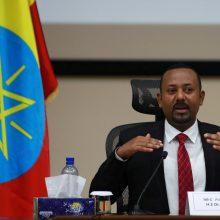Etiopijos valdžia teigia, kad pajėgos nukovė tris svarbius Tigrėjaus pareigūnus