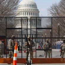 Prie JAV Kapitolijaus sugriežtintas saugumas, žvalgybai aptikus naujos atakos sąmokslą