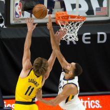 Mače prieš NBA lyderius – galingas D.Sabonio pasirodymas