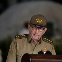 R. Castro atsistatydino iš Kubos komunistų partijos vadovo pareigų