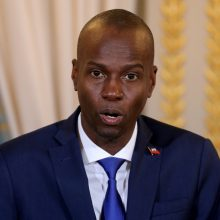 Haityje dėl J. Moise