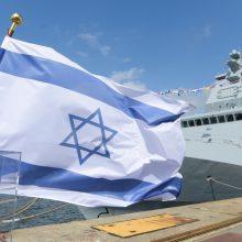 Vokietija perdavė Izraeliui du naujus karo laivus