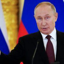 V. Putinas dekretu paskelbė Tėvo dieną, kad pagerbtų vyro vaidmenį auginant vaikus