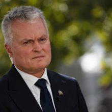 Prezidentas: JT galėtų imtis priemonių prieš Baltarusijos režimą