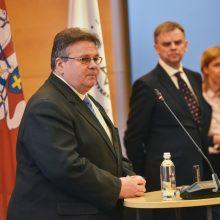 L. Linkevičius: Holokaustas yra randas ant žmonijos veido