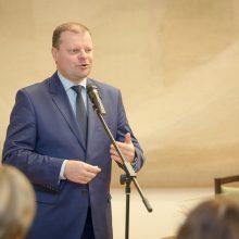 Premjeras įteikė valstybinę J. Basanavičiaus premiją