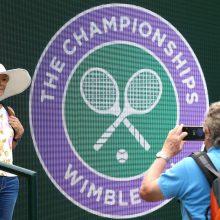 Dėl koronaviruso epidemijos atšaukiamas Vimbldono teniso turnyras