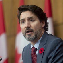 "Kanados premjeras J. Trudeau ketina pasiskiepyti ""AstraZeneca"" vakcina"