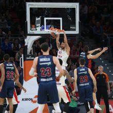 CSKA krepšininkai iškopė į Eurolygos finalo ketverto turnyrą