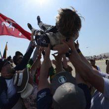 B. Vanagas užėmė istoriškai aukštą poziciją Dakare