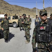 Talibanas teigia kontroliuojantis 90 proc. Afganistano sienos