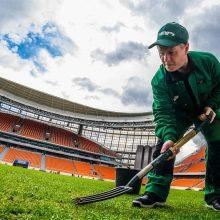 Rusijos futbolo lygos vadovas: kur stadionų stogai?