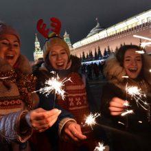 Pasaulis palydėjo nerimo kupinus metus ir sveikino 2019-uosius