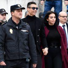 C. Ronaldo išvengė įkalinimo, bet turės sumokėti milžinišką baudą