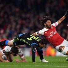 """Europos lyga: užtikrinta """"Arsenal"""" pergalė ir Prahoje išsigelbėjusi """"Chelsea"""""""