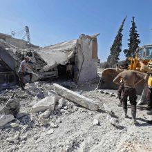 Berlynas, Paryžius ir Londonas reiškia susirūpinimą dėl smurto eskalacijos Sirijoje