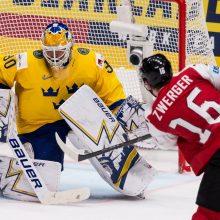 Pasaulio ledo ritulio čempionate – švedų ir kanadiečių pergalės
