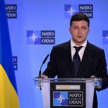 V. Zelenskis tikisi, kad sankcijos Rusijai nebus panaikintos