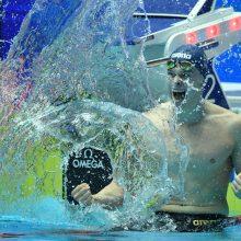 D. Rapšys iškovojo antrą aukso medalį Europos plaukimo čempionate