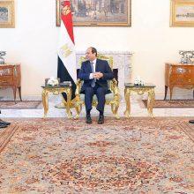 J. Kushneris lankėsi Egipte – diskutavo apie Izraelio–Palestinos taikos iniciatyvą