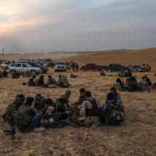 JT: dėl Turkijos puolimo Sirijoje perkelta jau 160 000 civilių