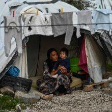 Graikijos salos protestuoja prieš migrantų stovyklų plėtros planus