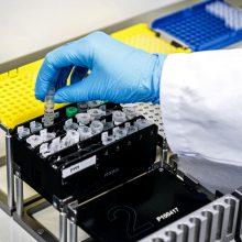 Privačiai dėl koronaviruso tiria dvi laboratorijos, dar trys pradės artimiausiu metu
