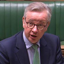 """Londonas atmetė ES raginimus atšaukti """"Brexitui"""" prieštaraujantį įstatymo projektą"""