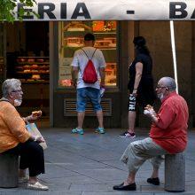 Madrido regione įvestas dalinis karantinas