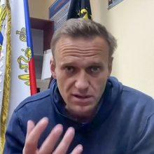 """A. Navalnas: kalinio gyvenimas panašus į """"Žvaigždžių karų"""" šturmuotojo"""