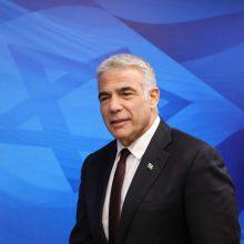 Izraelio diplomatijos vadovas apsilankys JAE per pirmąjį oficialų vizitą