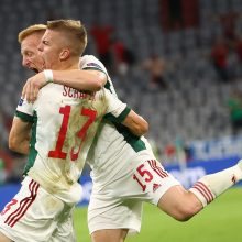 Sensacija buvo arti: Vengrija vos neišspyrė Vokietijos