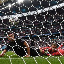 Anglija išspyrė Vokietijos futbolininkus iš Europos čempionato