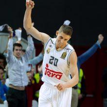 """""""Real"""" krepšininkai išplėšė pergalę prieš """"Maccabi"""""""