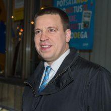 Estijos prezidentė pasiūlė premjerui formuoti naują vyriausybę