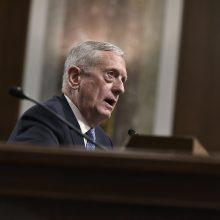 JAV Senatas suteikė išlygą J. Mattisui tapti Pentagono vadovu