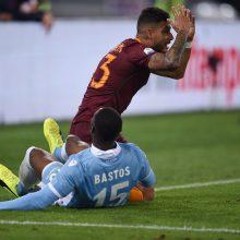 """Romos """"Lazio"""" pateko į Italijos taurės finalą"""