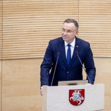 Lenkijos prezidentas lietuviams: niekada nebebūsime paprasti kaimynai, esame broliai