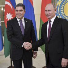 Turkmėnijos lyderis paskyrė savo sūnų vienos iš provincijų gubernatoriumi