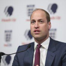 Britų princas Williamas prisijungia prie socialinių tinklų boikoto dėl rasizmo