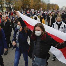 Populiaraus Baltarusijos naujienų portalo tut.by žurnalistei skirta 15 parų arešto