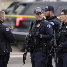 Per šaudymo incidentą JAV mokykloje sužaloti du žmonės