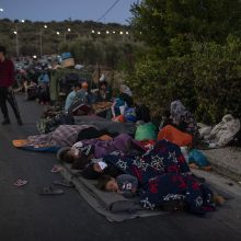 Vokietija sutiko priimti 1 553 migrantus iš Graikijos